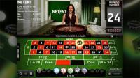 roulette live casino NetEnt